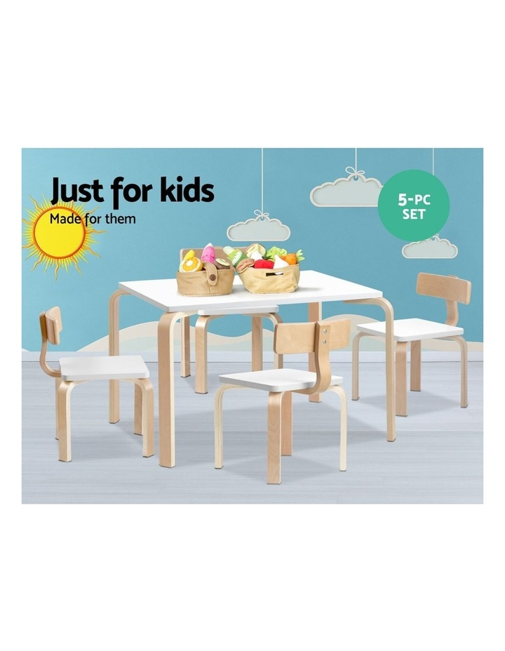 Kids Table and Chair Set Study Desk image 5