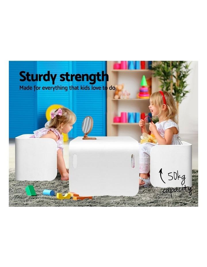 Kids Table and Chair Set Study Desk image 5