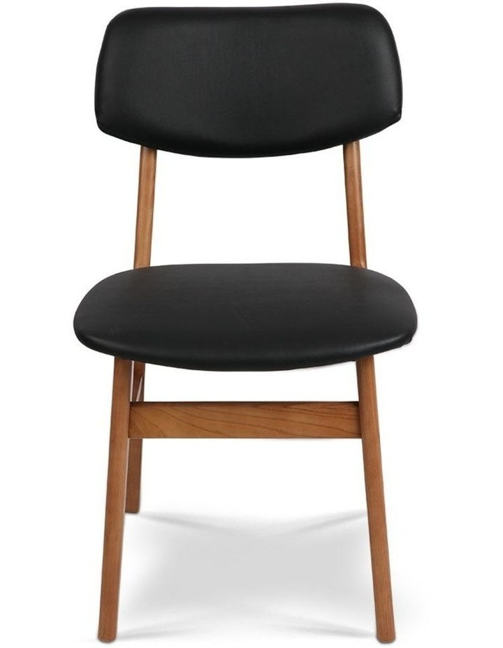 Wood & Pvc Dining Chairs image 3