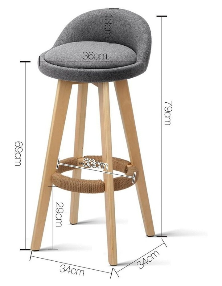 Bentwood Bar Stool image 2