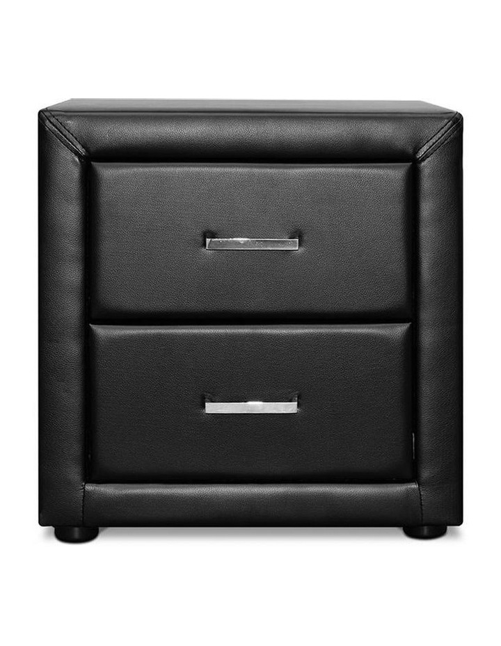 PVC Leather Bedside Table image 5