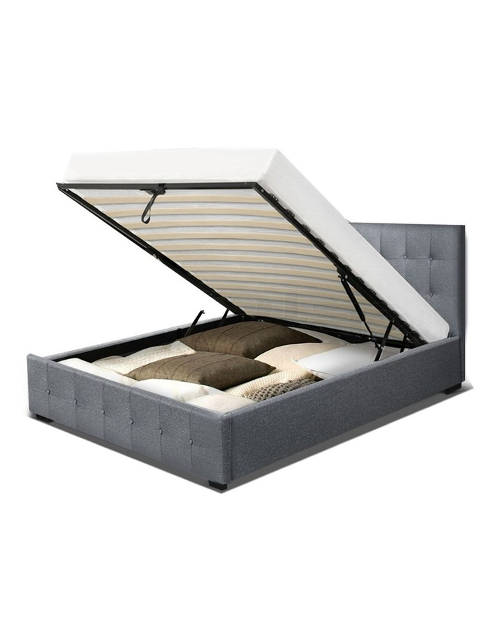 ROCA King Single Size Gas Lift Bed Frame Base With Storage image 4