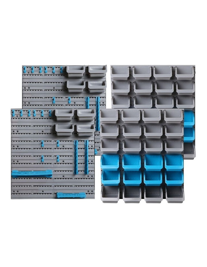 88 Parts Wall-Mounted Storage Bin image 1