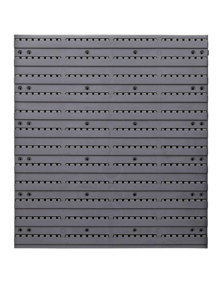 Giantz 48 Bin Wall Mounted Rack Storage Organiser image 3