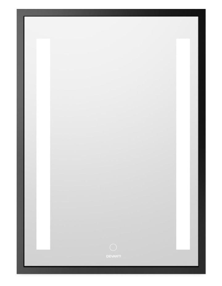 Bathroom Wall Mounted Mirror LED Light Makeup Dressing Vanity 700mm image 1
