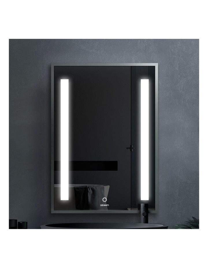 Bathroom Wall Mounted Mirror LED Light Makeup Dressing Vanity 700mm image 3