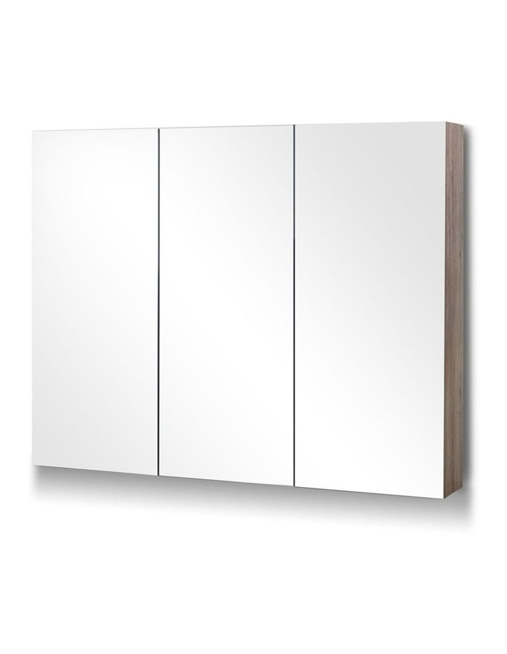 Bathroom Vanity Mirror with Storage Cabinet - Natural image 1