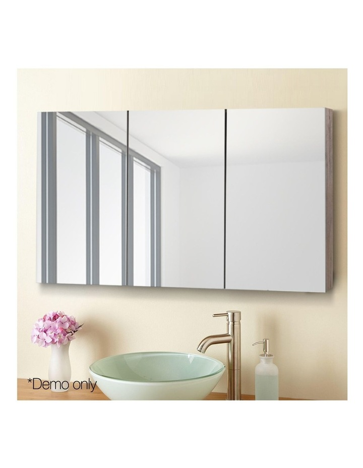 Bathroom Vanity Mirror with Storage Cabinet - Natural image 3