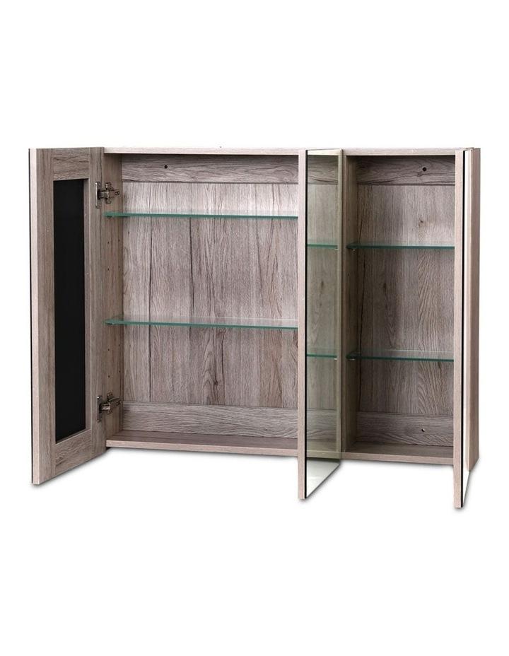 Bathroom Vanity Mirror with Storage Cabinet - Natural image 4