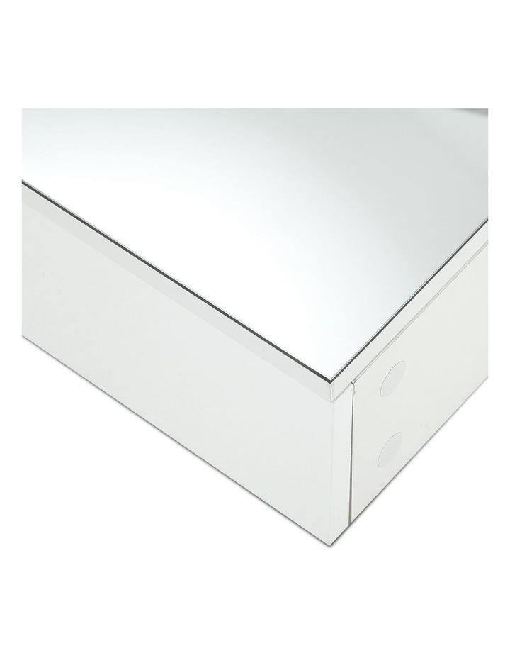 Bathroom Vanity Mirror with Storage Cabinet - White image 5