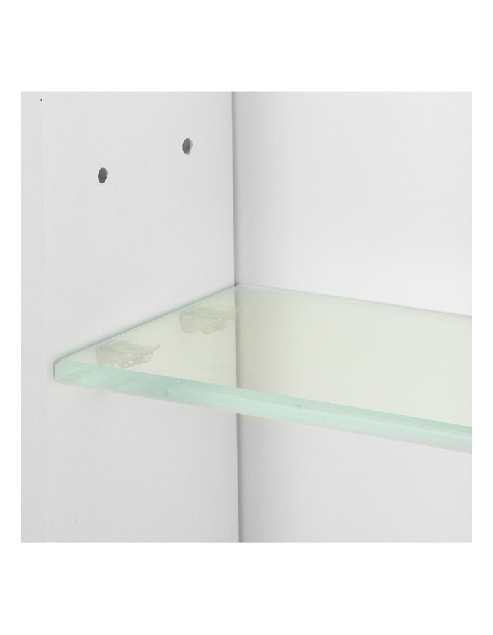 Bathroom Vanity Mirror with Storage Cabinet - White image 6