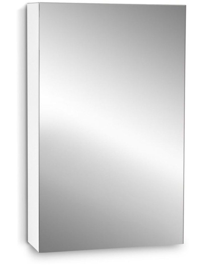 Bathroom Vanity Mirror with Storage Cabinet - White image 1
