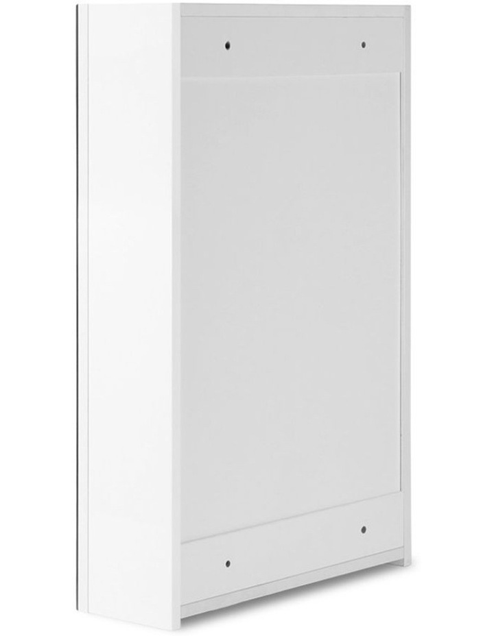 Bathroom Vanity Mirror with Storage Cabinet - White image 5