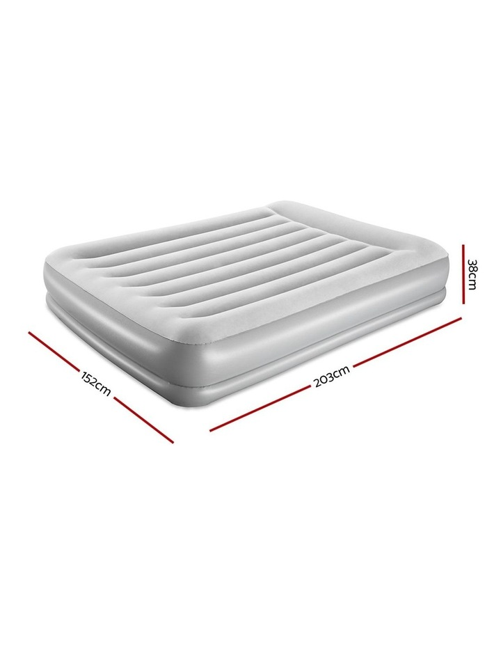 Queen Inflatable Air Bed Mattresses with Built-in Pump image 2