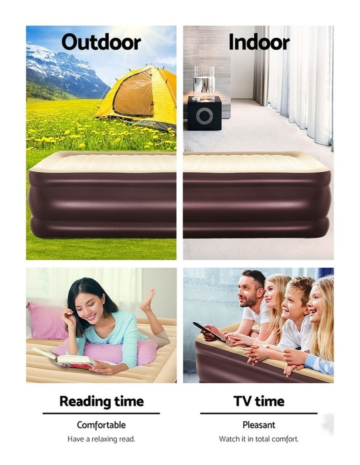 Bestway Queen Air Bed Inflatable Air Beds Mattress Electric image 5