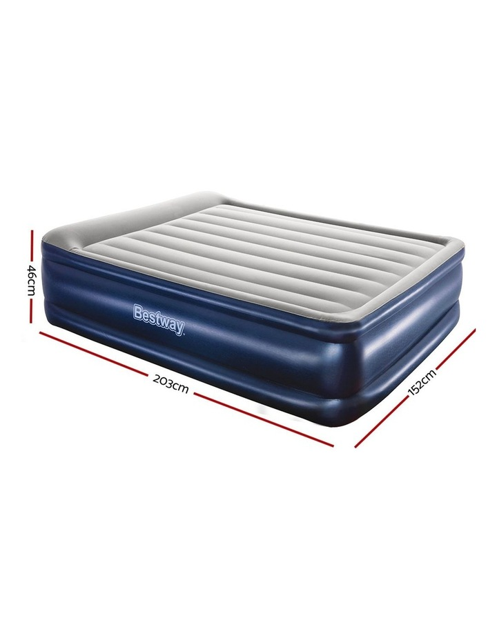 Bestway Queen Air Bed Air Beds Inflatable Mattress Built-in Pump Camping image 2