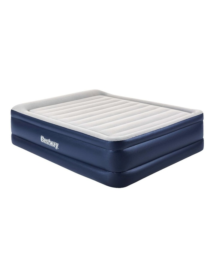 Bestway Queen Air Bed Air Beds Inflatable Mattress TRITECH Airbed Built-in Pump image 1