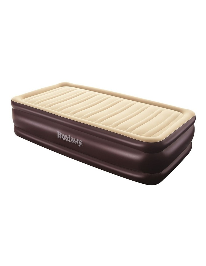 Bestway Single Air Bed Inflatable Mattress Electric Camping image 1
