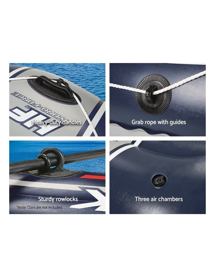 4 Person Inflatable HYDRO-FORCE Boat image 4