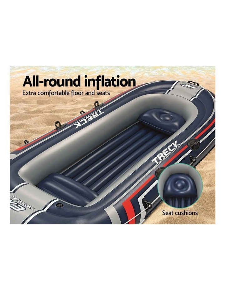 4 Person Inflatable HYDRO-FORCE Boat image 5