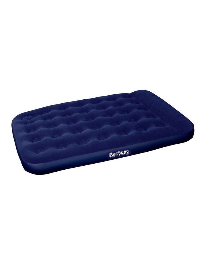 Double Size Inflatable Navy Air Mattress image 1