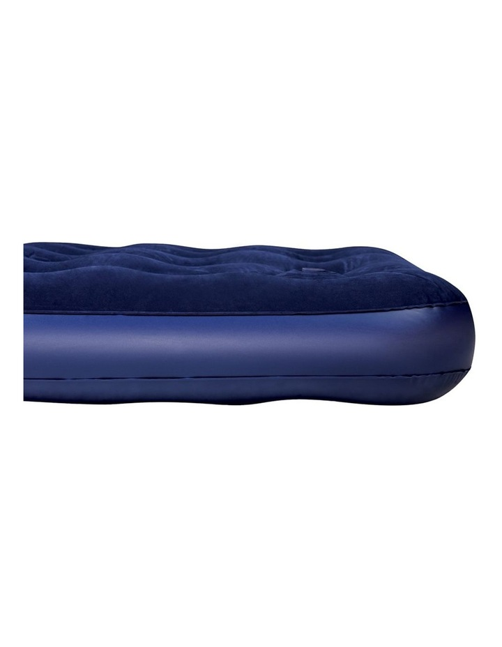 Queen Size Inflatable Air Mattress - Navy image 3