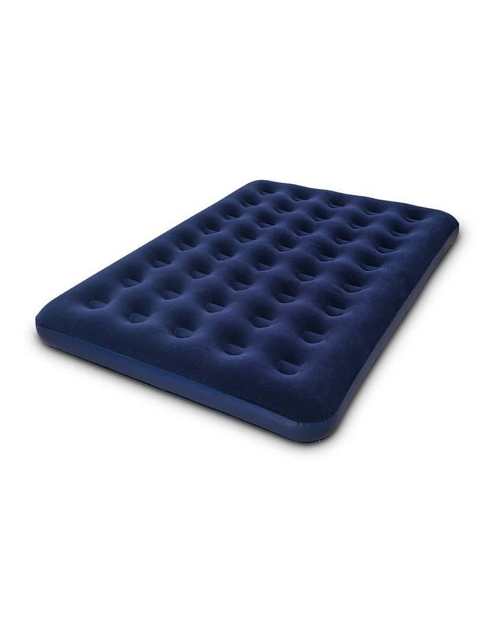 Twin Double Inflatable Air Mattress - Navy image 1
