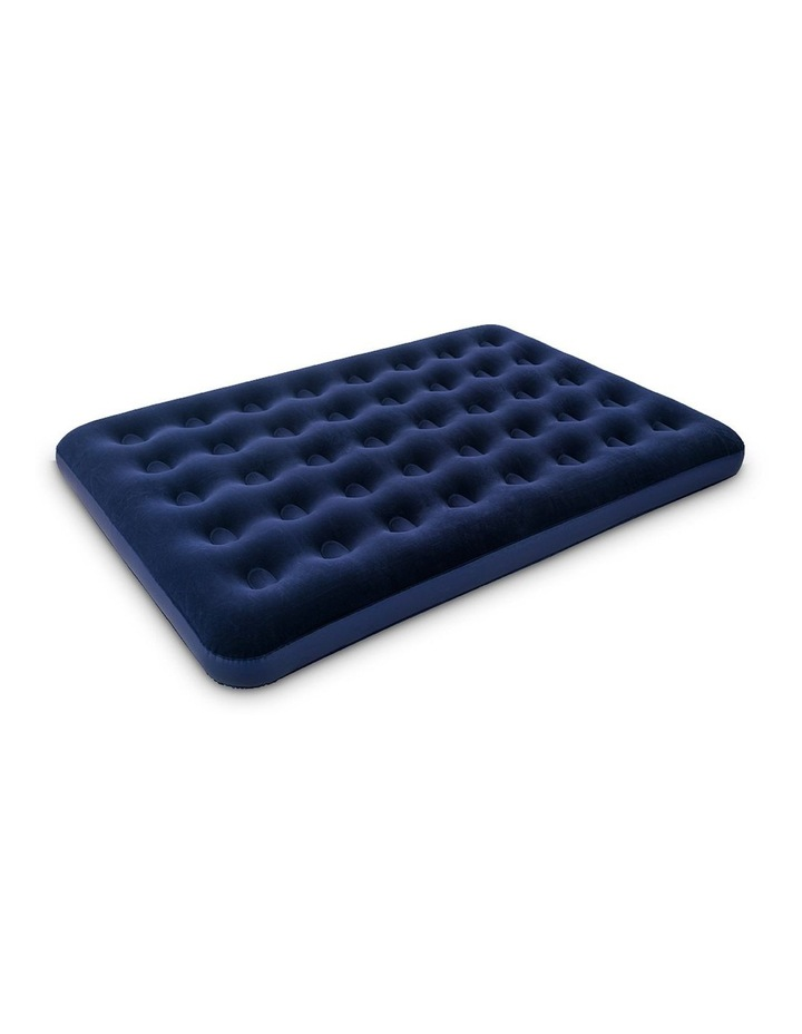 Twin Double Inflatable Air Mattress - Navy image 3