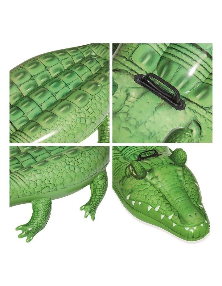 Inflatable Float Crocodile Rider 168cm Pool Toy image 3