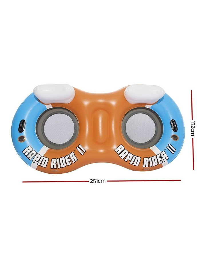 River Run Twin Inflatable Pool Lounge Float image 2