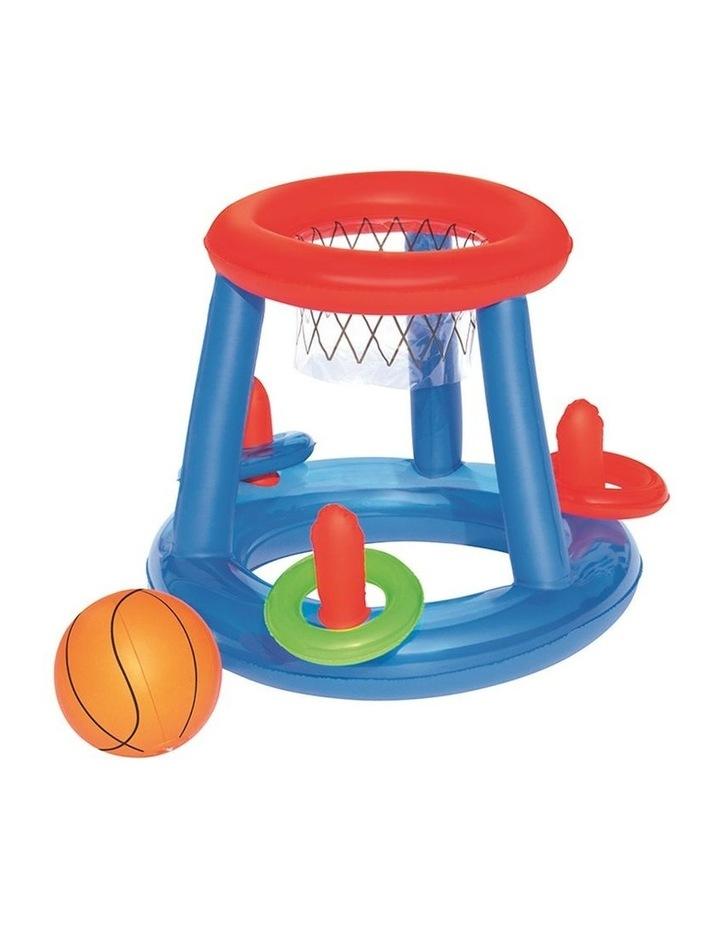 Inflatable Pool Dunk Basketball Hoop Game image 1