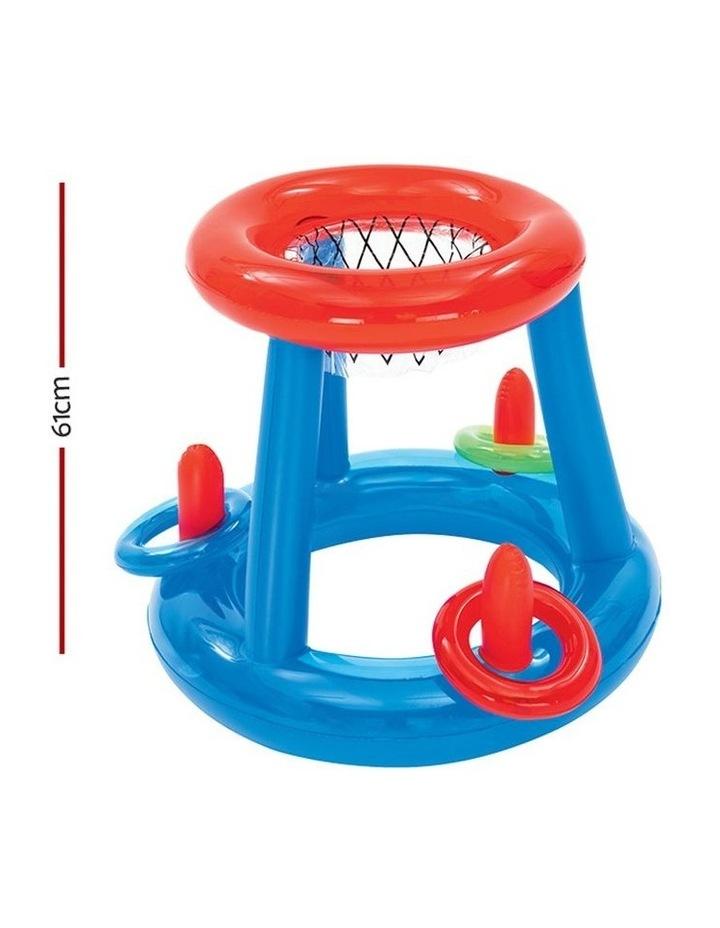 Inflatable Pool Dunk Basketball Hoop Game image 2