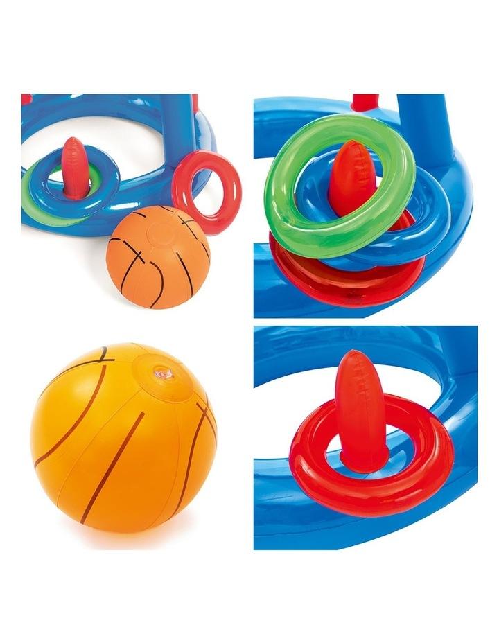 Inflatable Pool Dunk Basketball Hoop Game image 3