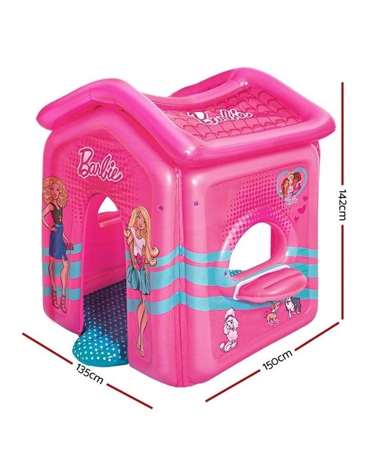 Barbie Malibu Inflatable Indoor Pink Playhouse image 2