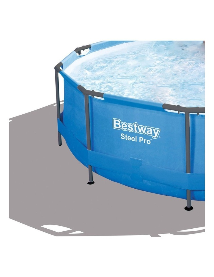 Above Ground Swimming Pool with Filter Pump image 2