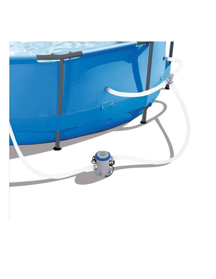 Above Ground Swimming Pool with Filter Pump image 3