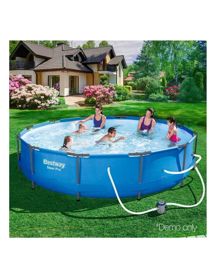 Above Ground Swimming Pool with Filter Pump image 5