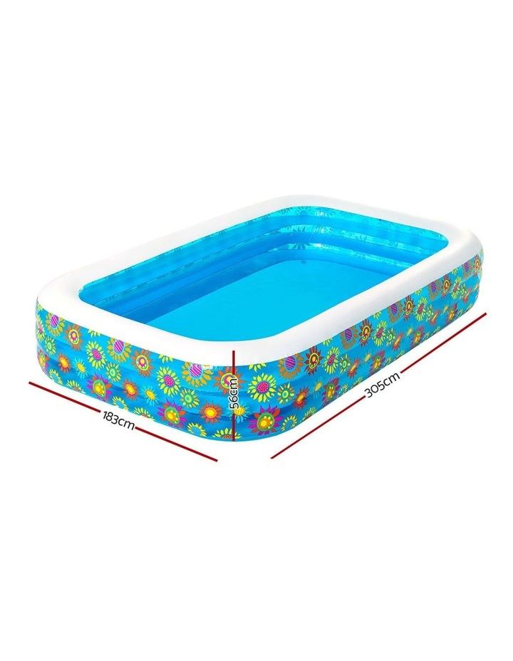 Inflatable Kids Play Pool Swimming Pool Rectangular Family Pools image 2