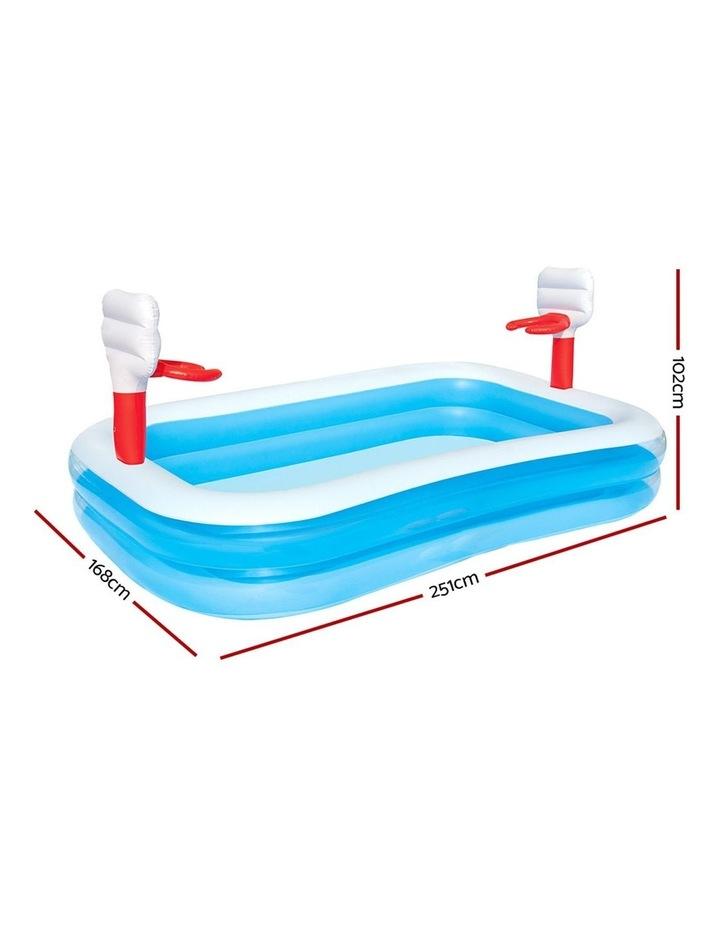 Inflatable Play Pool Kids Pool Swimming Basketball Play Pool image 2