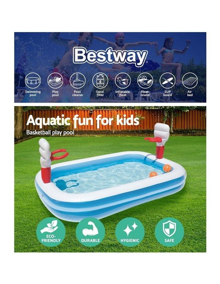 Inflatable Play Pool Kids Pool Swimming Basketball Play Pool image 4