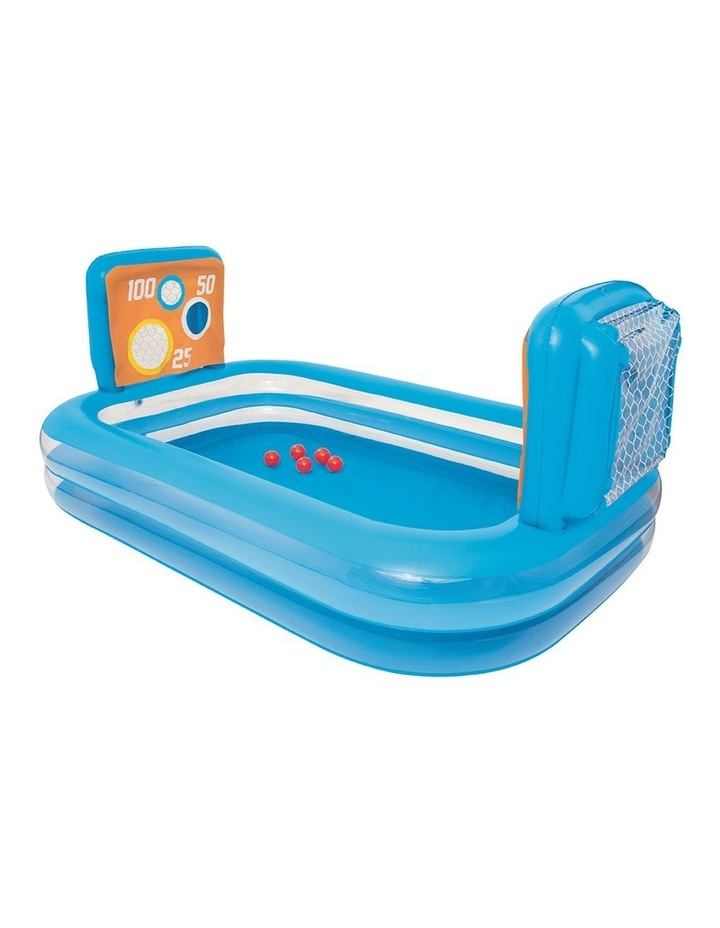 Inflatable Kids Skill Shot Swimming Paddling Pool Ball Pit Game image 1