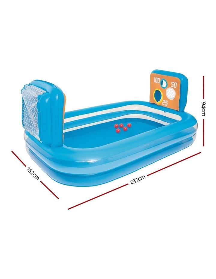 Inflatable Kids Skill Shot Swimming Paddling Pool Ball Pit Game image 2