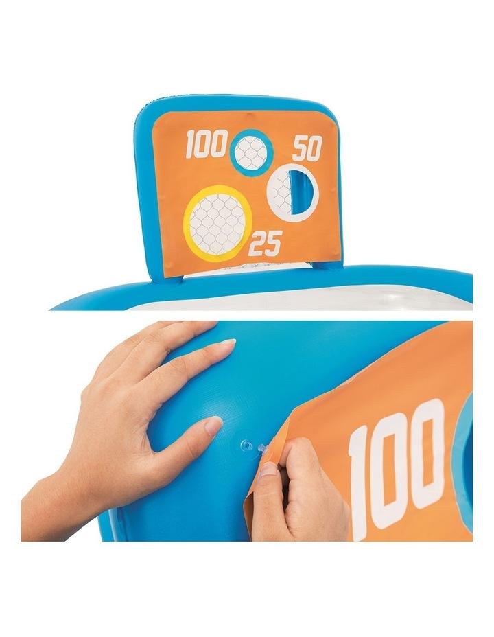 Inflatable Kids Skill Shot Swimming Paddling Pool Ball Pit Game image 3