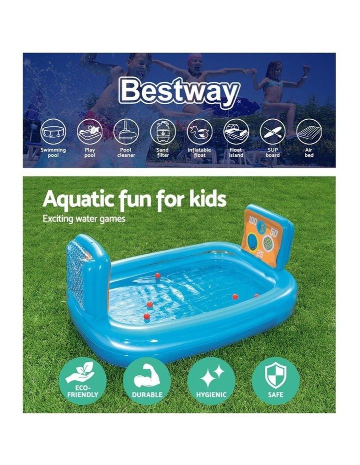 Inflatable Kids Skill Shot Swimming Paddling Pool Ball Pit Game image 4