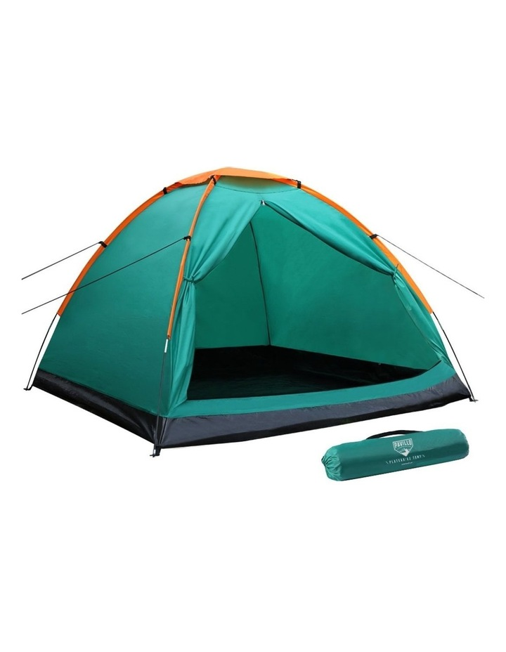 3 Person Camping Dome Canvas Family Tent image 1