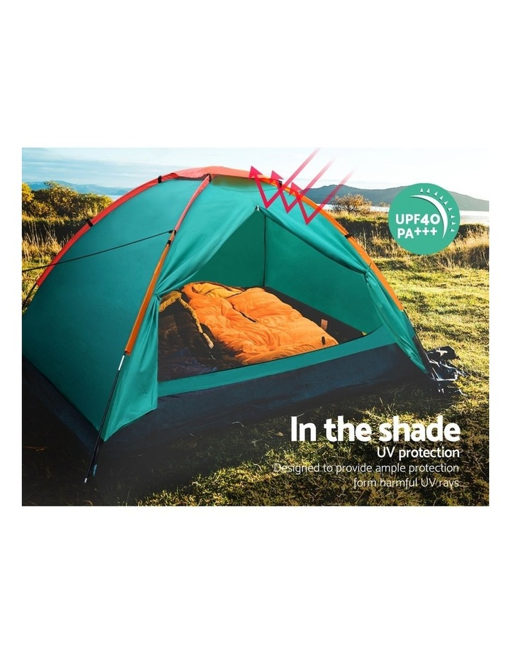 3 Person Camping Dome Canvas Family Tent image 5