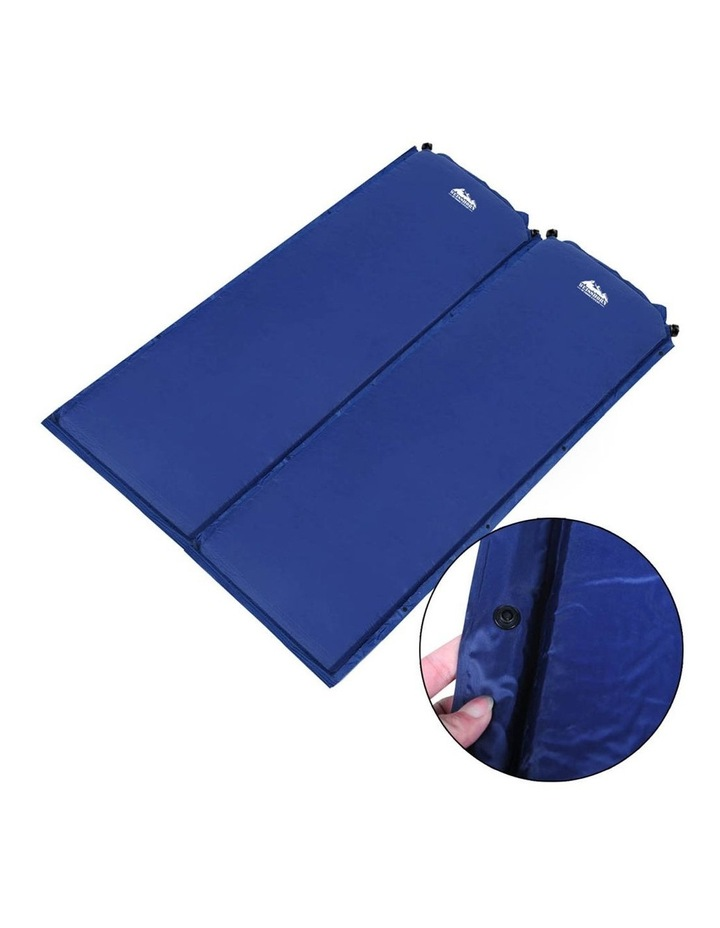 Self Inflating Mattress in Blue image 4