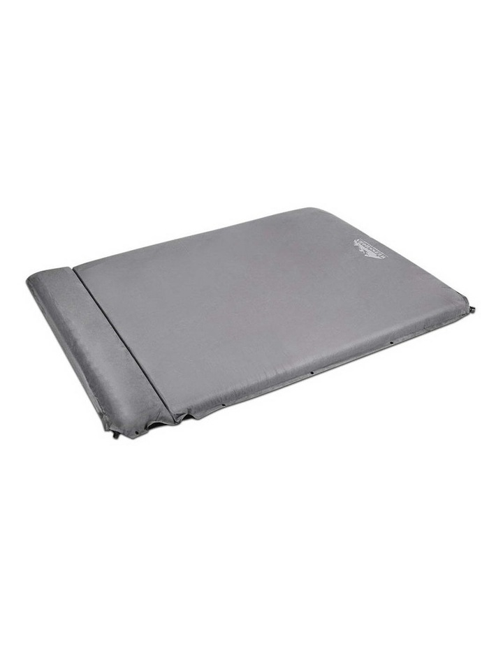 Double Thickness Self inflating Mattress in Grey image 3