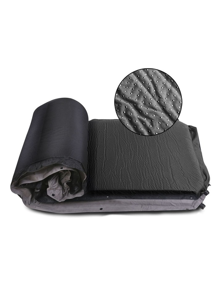 Double Thickness Self inflating Mattress in Grey image 5