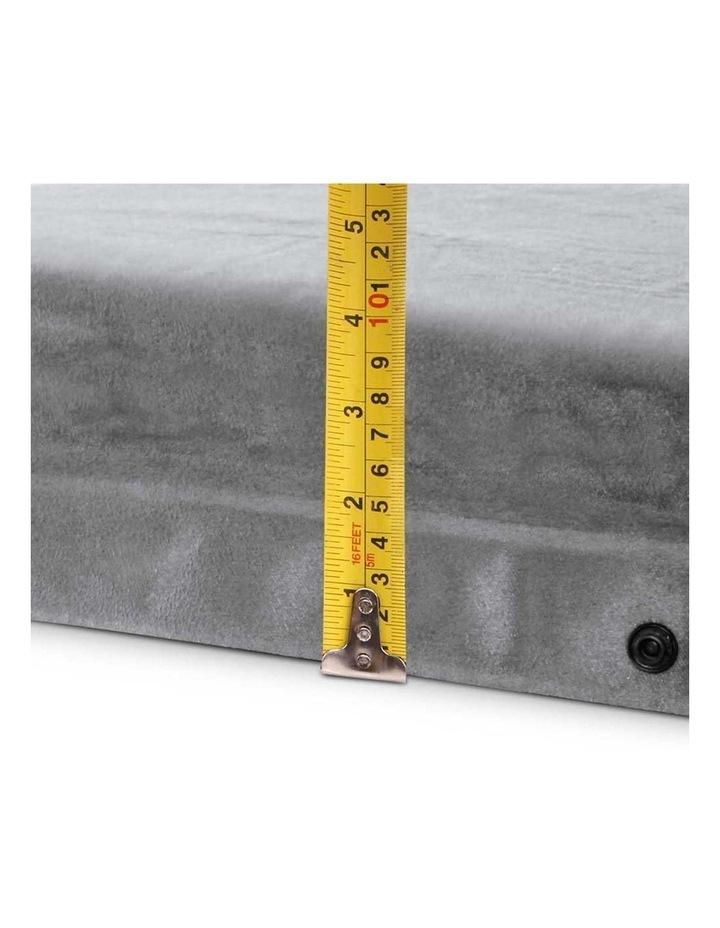 Self Inflating Mattress Single Size in Grey image 3